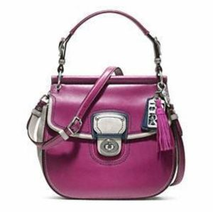 COACH Leather Colorblock Willis Legacy